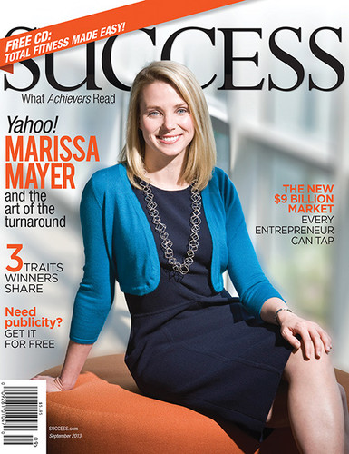 SUCCESS Magazine September 2013 - Marissa Mayer