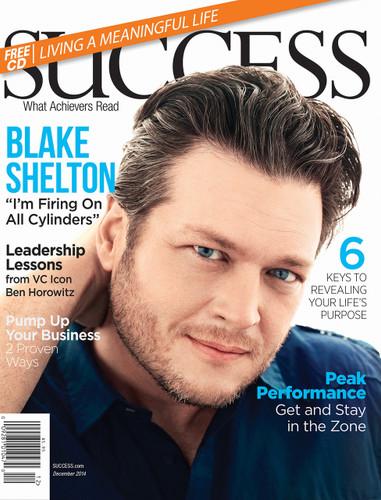 SUCCESS Magazine December 2014 - Blake Shelton