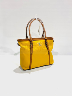 Houston Shopper Bag Yellow