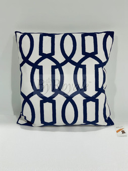 Cushion, hand made with embroidery to finish the elegant motive.
