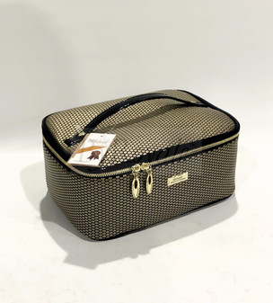 Serenade Cosmetic Case Gold