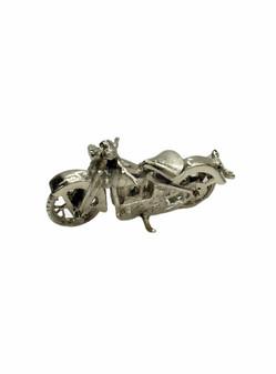 Silver Motorcycle