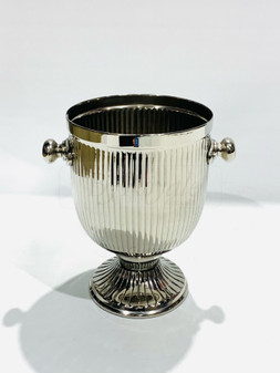 Silver Champagne Holder W/Handle