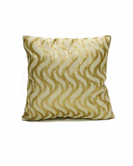 Wave Gold Sequin Cushion