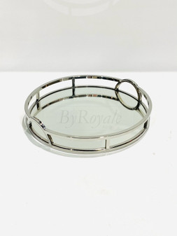 Silver Arch Round Tray