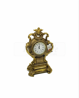 Classic Gold Table Clock