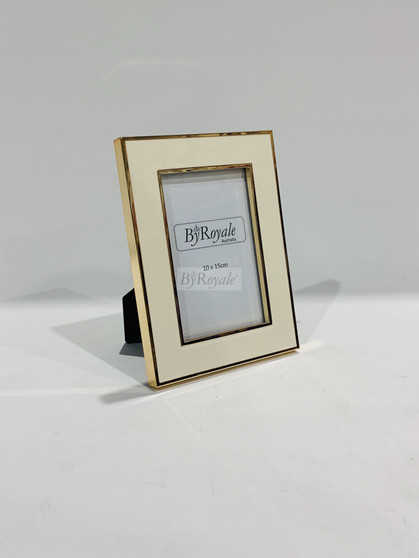 Rose Gold/White Photoframe