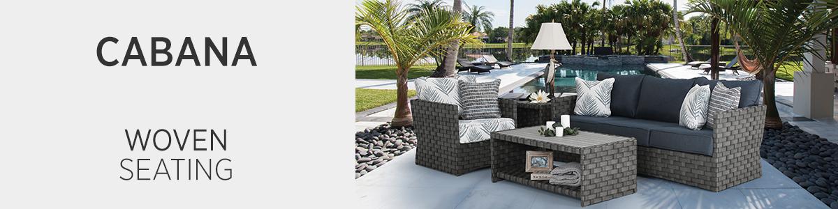 Cabana Woven Seating