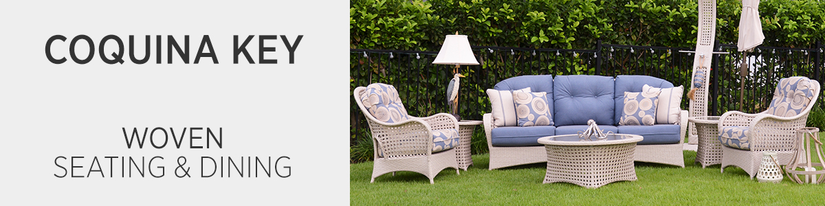 Coquina Key Woven Seating & Dining