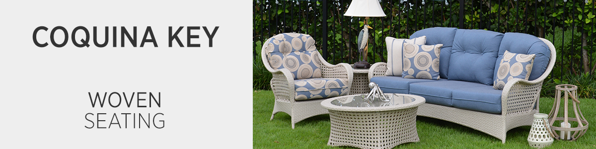 Coquina Key Woven Seating