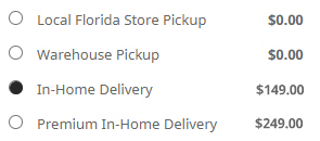 In-Home Delivery