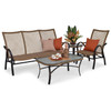 Empire Outdoor Wicker Seating Set (Staged View)