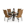 Empire Outdoor Wicker High Back Dining Chair