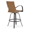 Empire Outdoor Wicker Bar Stool (Alternate View)