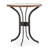 """Empire Outdoor 36"""" Round Bar Height Table with Glass Top"""