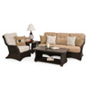 Maldives Outdoor Wicker Seating in Clove