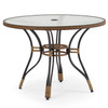 """Empire Outdoor Wicker 40"""" Round Dining Table"""