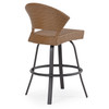 Empire Outdoor Wicker Bar Height Stool (Alternate View)