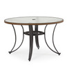 Empire Outdoor Dining Table with Glass Top