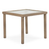 """Kokomo Outdoor 34"""" Square Dining Table (Oyster Grey)"""