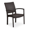 Kokomo Stackable Dining Chair without optional cushion (alternate view)