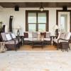 Kokomo Outdoor Wicker Seating Group (Lifestyle View)