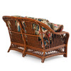Bali Indoor Rattan Loveseat with Cushions