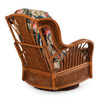 Bali Indoor Rattan High Back Swivel Glider (Alternate View)