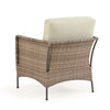 Garden Terrace Outdoor Wicker Club Chair with Cushion (Alternate View)