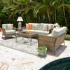 Garden Terrace Seating Set (Lifestyle View)