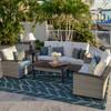 Retreat Outdoor Wicker Seating Set