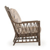Tortuga Rattan High Back Chair (Espresso Alternate)