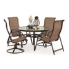 Outer Banks Mixed 5 Piece Sling Dining Set
