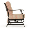 Charleston Outdoor Cast Aluminum Spring Chair (Alternate View)