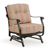 Charleston Outdoor Cast Aluminum Spring Chair