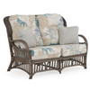 Islamorada Indoor Rattan High Back Loveseat with Cushions