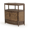 Islamorada Indoor Rattan Corner TV Stand (Alternate View)