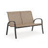 Madeira Loveseat in Charcoal with Sand Dune Sling