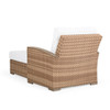 Retreat Outdoor Wicker Chaise and a Half in Sandstone