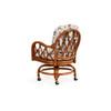 Jamaica Rattan Swivel Tilt Caster Dining Chair