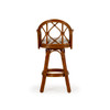 Jamaica Indoor Rattan Swivel Bar Height Stool