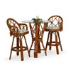 Jamaica Indoor Rattan 3 Piece Bar Height Pub Set