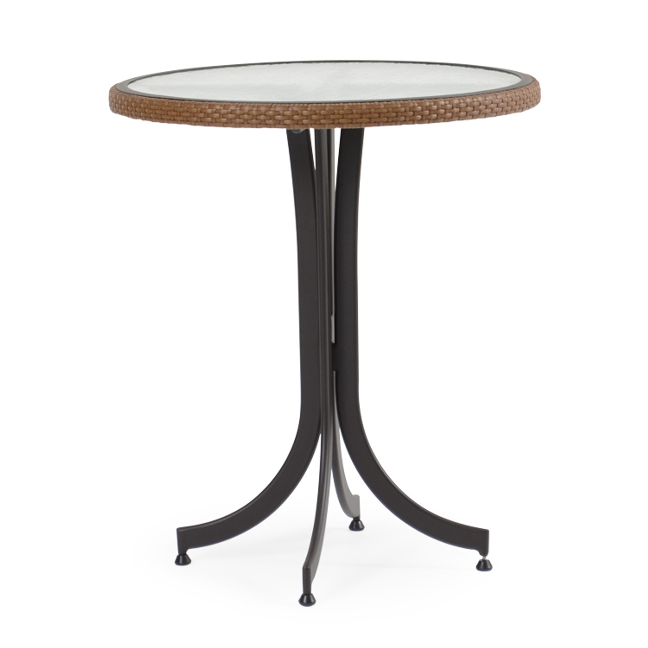 """Empire Outdoor Wicker 30"""" Round Counter Height Table"""