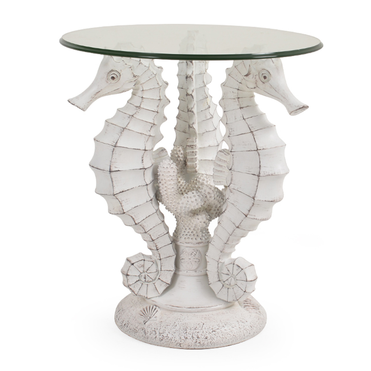 Outdoor Seahorse Side Table Leaders Furniture