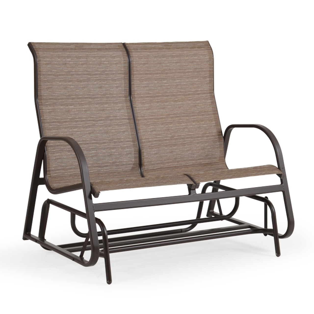 Patio Furniture Loveseat Glider.Outer Banks Outdoor High Back Loveseat Glider