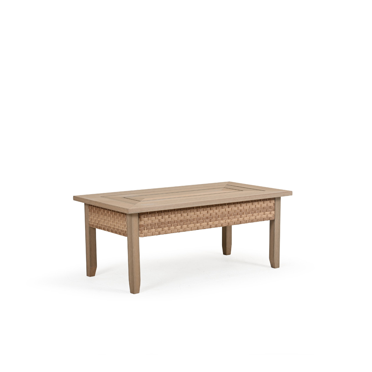 Retreat Outdoor Wicker Rectangle Cocktail Table