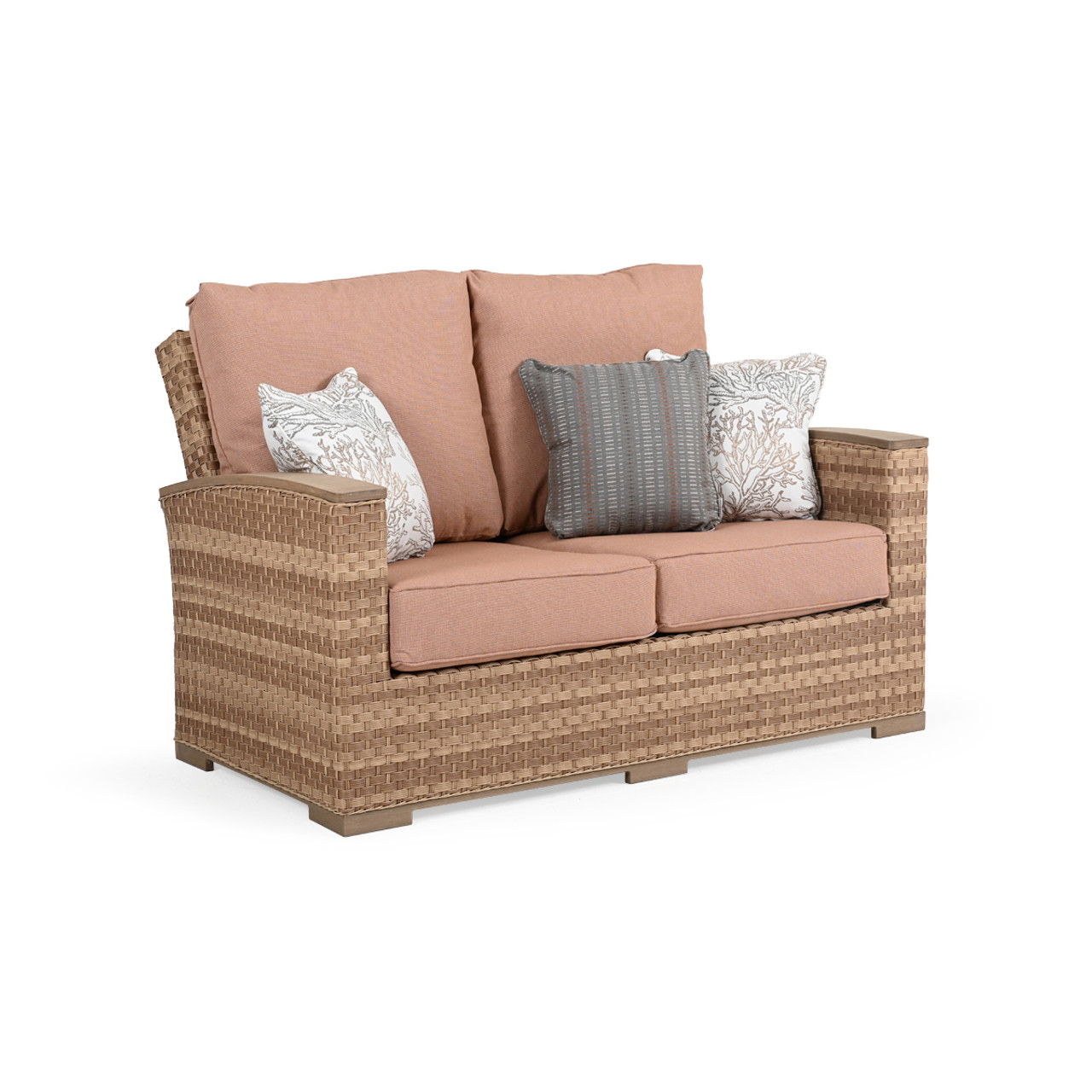 Retreat Outdoor Wicker Loveseat