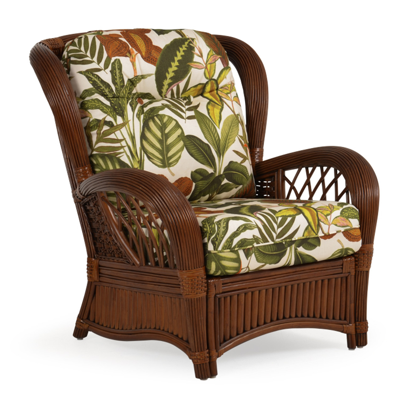 Picture of: Island Way Indoor Rattan Lounge Chair Leaders Furniture For Florida Living