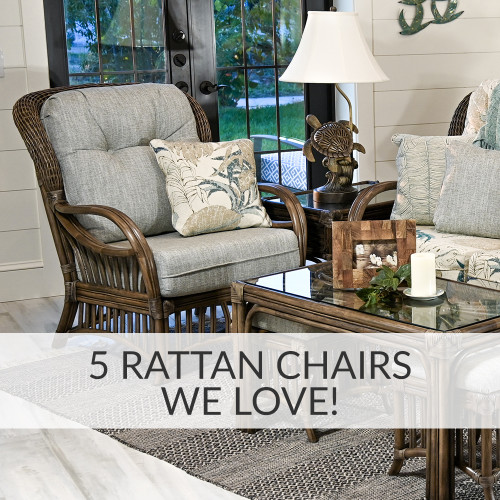 5 Rattan Chairs We Love