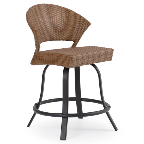 Empire Outdoor Wicker Counter Height Stool